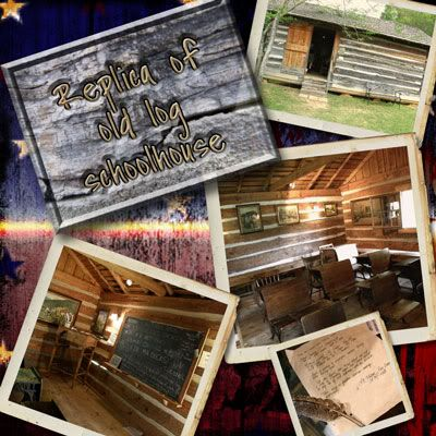 Old Log Schoolhouse
