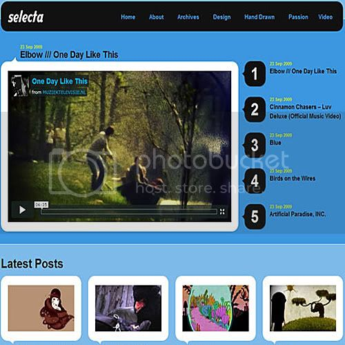 selecta theme wordpress 10 Temas grtis para Wordpress (Parte 2)