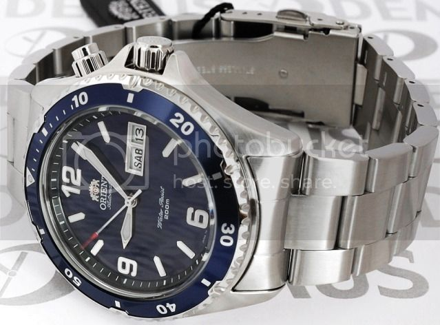 ORIENT-SEIKO-HERREN-AUTOMATIK-UHR-200-METER-TAUCHER-BLAU-NEU-OVP-ALLES-STAHL